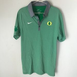 Nike Golf Polo Oregon Ducks | Size Small (Mens)